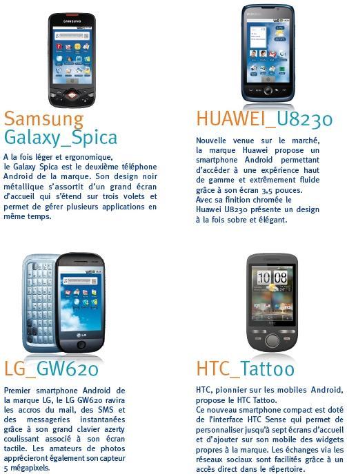 BOUYGUES TELECOM accélère sur Android - Paperblog
