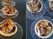 Tartelettes chocolat noix caramélisées