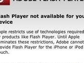 Flash iPhone Adobe content