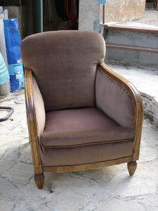restauration d 39 un vieux fauteuil club d couvrir. Black Bedroom Furniture Sets. Home Design Ideas