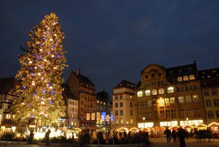 Strasbourg le grand sapin de no l sera rig place kl ber lundi 9 novembre - Ikea strasbourg sapin ...