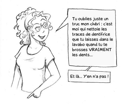La saga des petites triches - Chap 1 Le brossage de dent (3)
