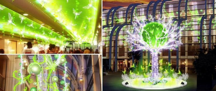 Au forum des halles le jardin imaginaire de noel paperblog for Le jardin imaginaire