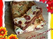 Cake courgette mimolette