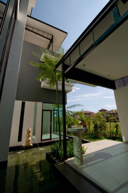 Maison moderne kuala lumpur malaisie paperblog for Maison kuala lumpur