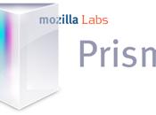 Mozilla Prism lien manquant entre l'application votre