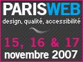 Concours Paris 2007 Standblog