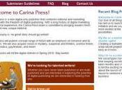 Harlequin lance Carina Press éditeur numérique exclusivement