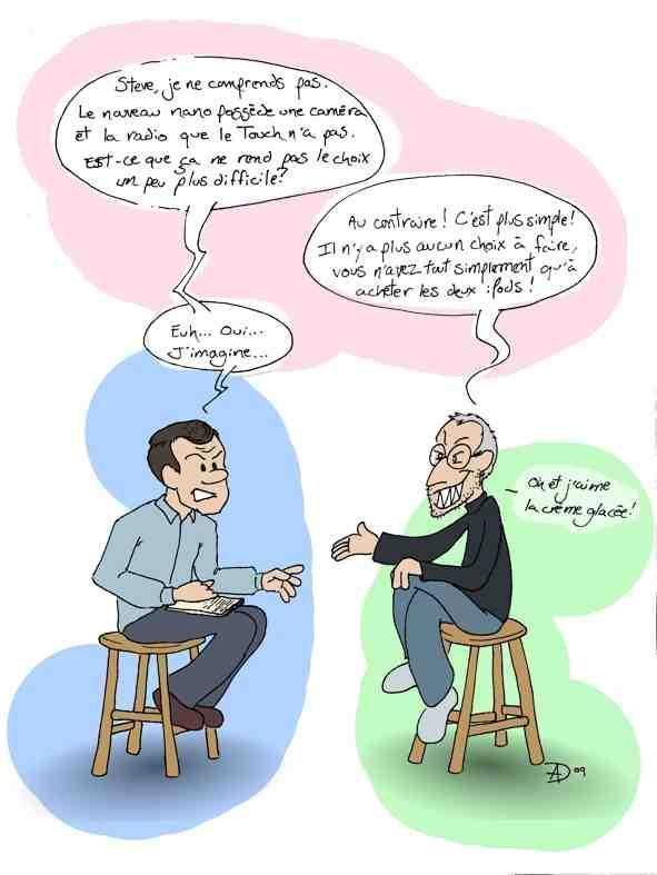 Un caricaturiste se joint à MacQuébec