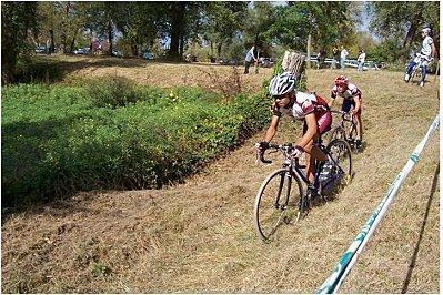 Cyclo cross d'Ainay le Château, minimes=RIBOLI Théo