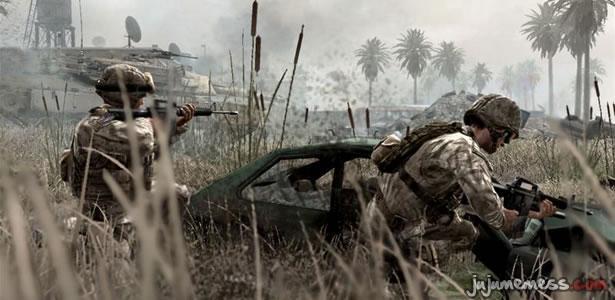 Un incroyable frag au couteau dans Modern Warfare 2
