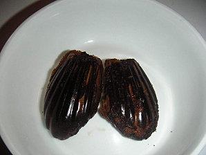 Madeleines chocolatées aux carambars