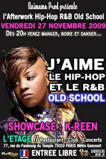 K-Reen, The Queen of R&B; made in France is Back! (video+showcase)