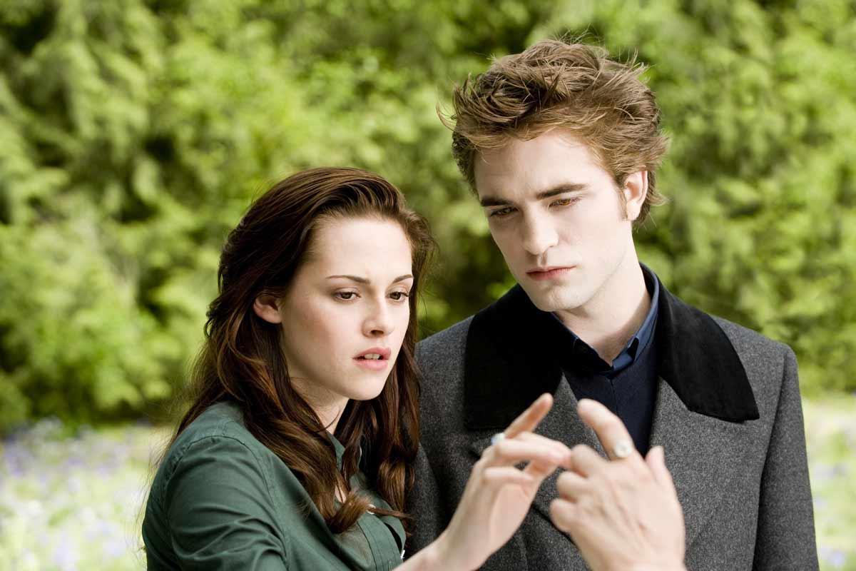 Kristen Stewart et Robert Pattinson. SND