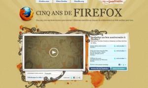 Firefox a 5 ans