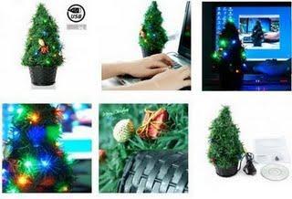 Un gadget de saison: l'arbre de Nöel USB
