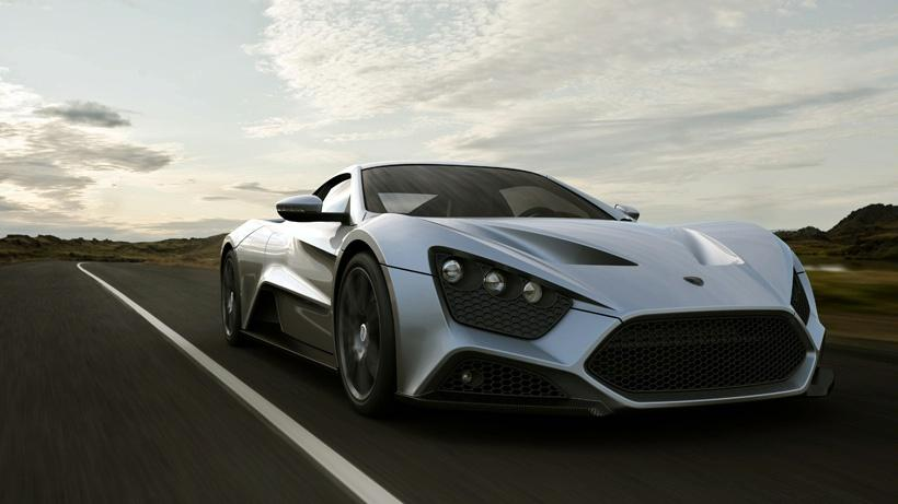zenvo 1 La nouvelle machine plus puissante du monde (6 photos+1 video)