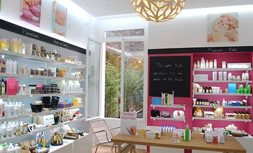 Mademoiselle Bio tient boutique à Paris