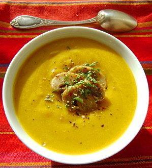 Soupe Crémeuse au Potiron
