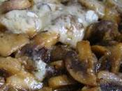 Papillote champignons parmesan
