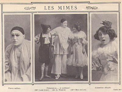 Félicia MALLET, COLETTE, OTERO, femmes mimes.