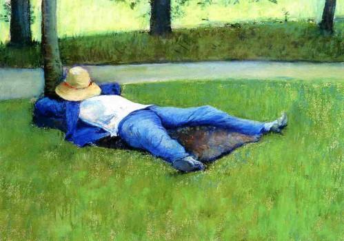 Gustave Caillebotte, La Sieste, 1877