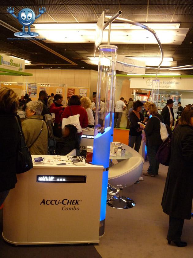Salon du diabète 2009, résumé {1ère partie}