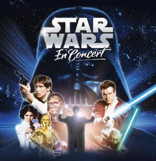 Concert Star Wars à Bercy