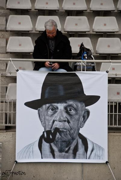 Match De Lutte Contre Les Discriminations Au Stade Charlety.