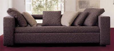 un sofa convertible en lit superpos voir. Black Bedroom Furniture Sets. Home Design Ideas