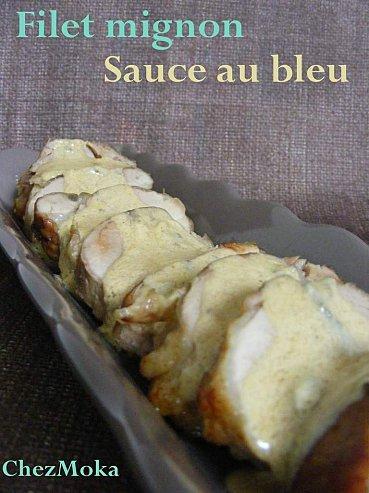 Filet mignon au Bleu d'Auvergne.