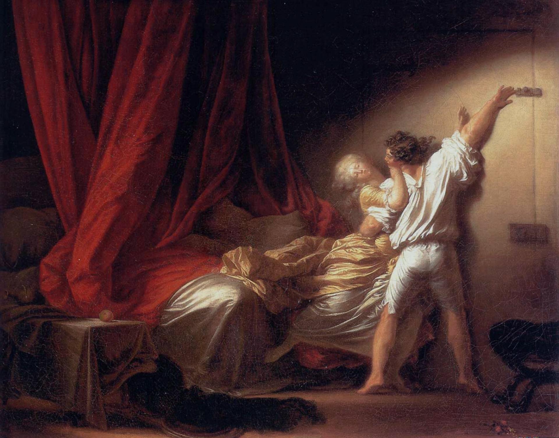 Fragonard - Le Verrou, vers 1777