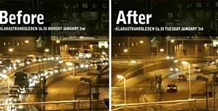 Smart Cities - Stockholm - before / after trafic congestion comparison