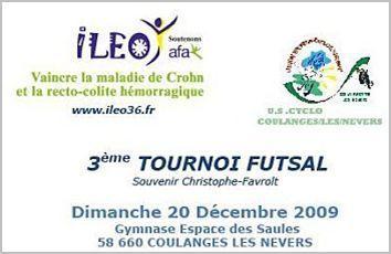 Tournoi FUTSAL ILEO 2009 : Les inscriptions de 2009 sont closes
