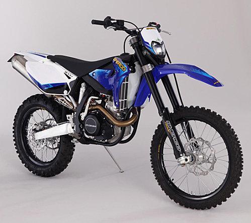 Les motos Scherco 2010 pour pratiquer l'enduro