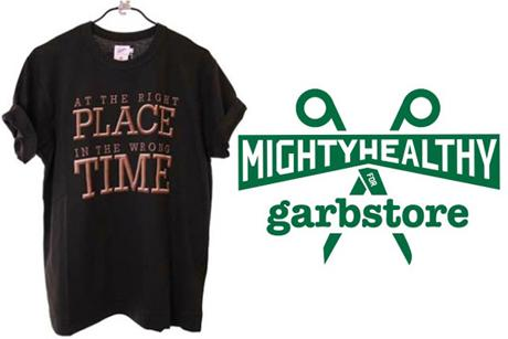 MIGHTY HEALTHY FOR GARBSTORE - TEE COLLECTION