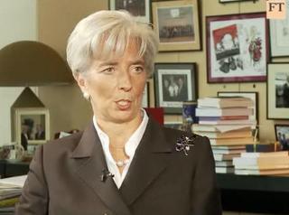 Call me Miss Lagarde