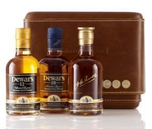 Noël, des idées cadeaux : coffret whisky Dewar's