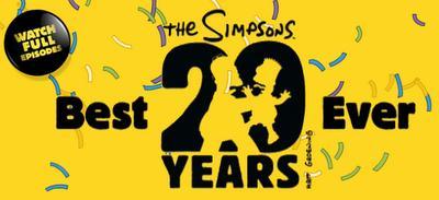 Les Simpson : spéciale 20 ans sur W9