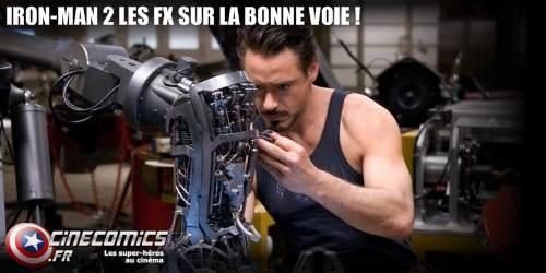les FX Iron-man 2 arrivent !