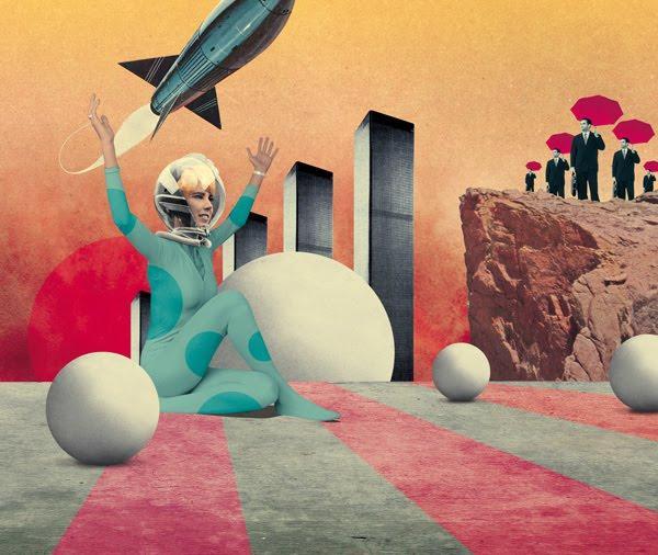 Julien Pacaud Vintage Illustrations