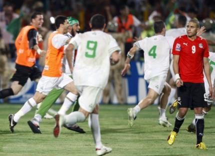 Alg rie egypte le r sultat du match d 39 appui du mercredi 18 novembre 2009 voir - Resultat coupe du monde 2010 ...