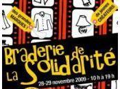Braderie Solidarité novembre