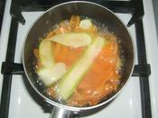 California rolls sans algue courgettes carottes.