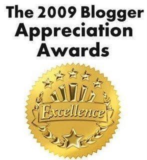 THE 2009 BLGGER APPRECIATION AWARDS