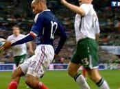 Football Coupe Monde 2010 Barrages retour France Irlande