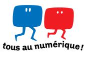 Logo - Tous Au Numérique - télévision numérique 2010