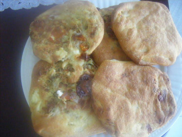Crepes farcies a la chekchouka marocaine et au thon
