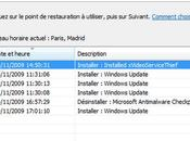restauration systéme refuse démarrer Windows Vista