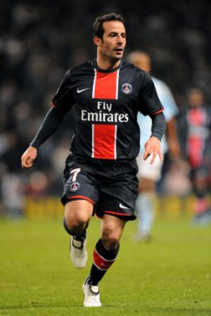 Ludovic Giuly, la mobylette du PSG.